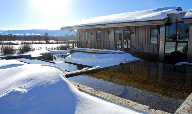 Jackson hole wy residence water garden brandner design for Jackson wy alloggio cabine