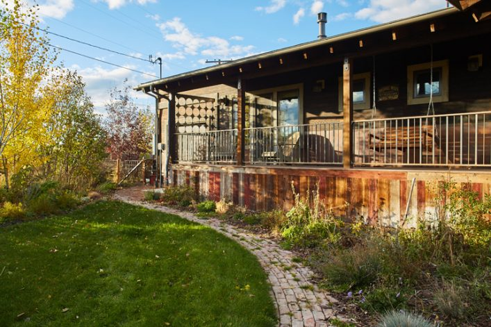 Brandner Design Back Porch Handrail