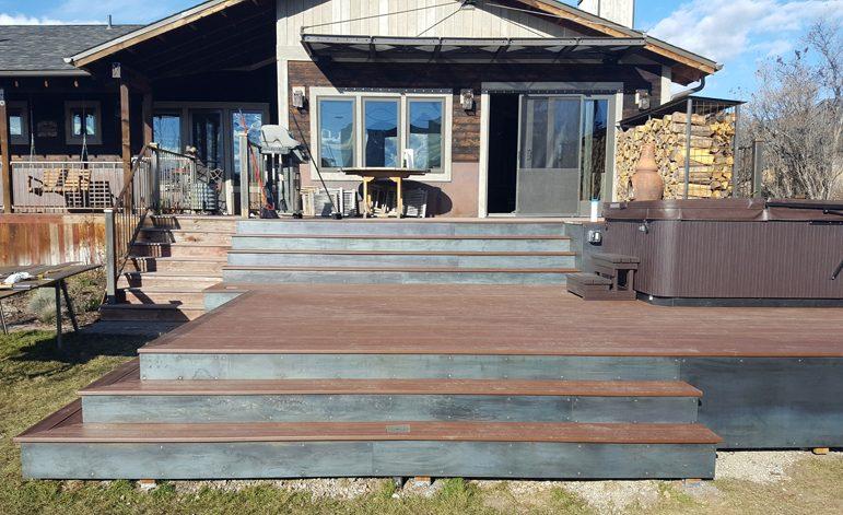 Brandnder Design Steel Stair Risers