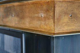 Brandner Design Riveted Steel Accent