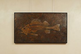 Brandner Design Fish Patina Wall Art