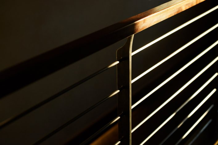 Brandner Design Bridger Stairs and Railing