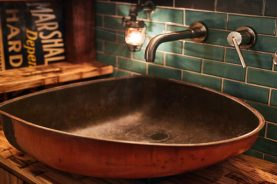Brandner Design Gas Tank Sink and Vanityanity