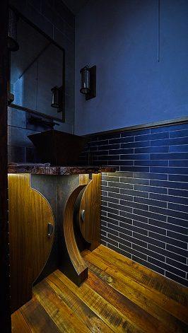 Brandner Design Bridger Powder Room Vanity