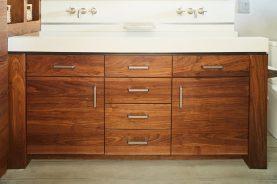 Brandner Design Bridger Walnut Vanity