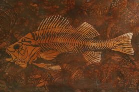 Brandner Design Autumn Veil Fish Bone Patina