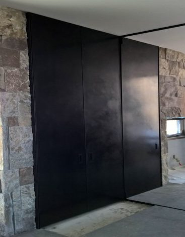Modern Hidden Accordian Door