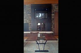Brandner Design Praire Grass Fireplace Surround