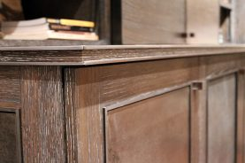 Brandner Design Wood Divided Steel Countertops