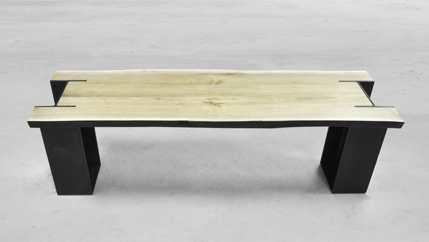 Brandner Design Ketchum I-Beam Bench