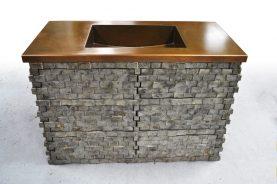 Brandner Design Integral Copper Sink
