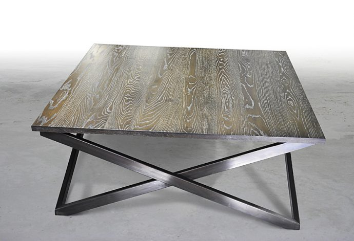 "Brandner Design Square ""X"" Coffee Table"