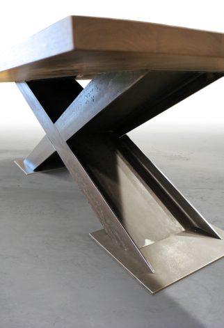 """Brandner Design """"X"""" I Beam Table"""