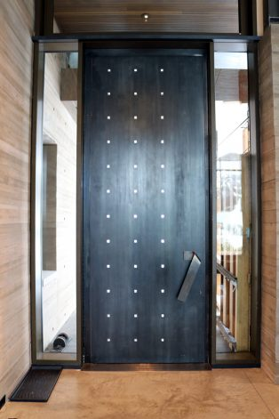 Brandner Design Stainless Steel Pivot Door