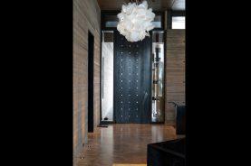 Brandner Design Stainless Steel Pivot Door