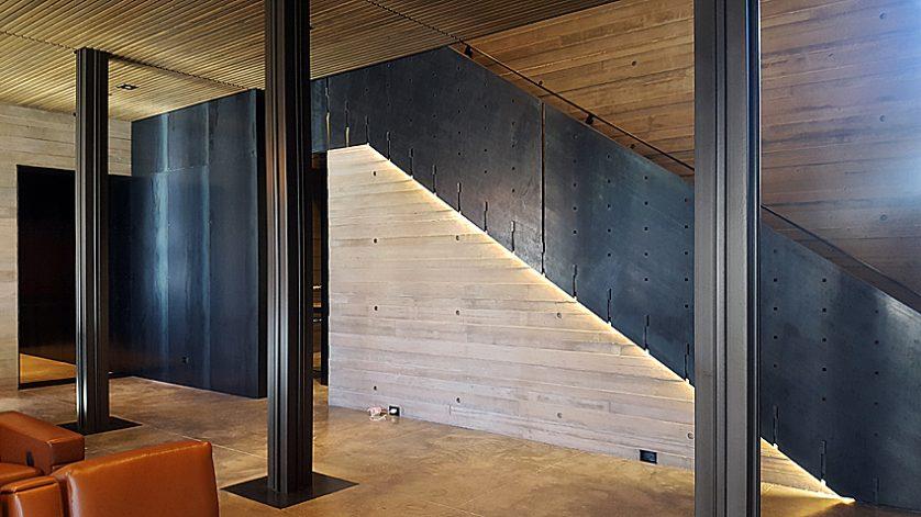Brandner Design Mountain Industrial Stairs