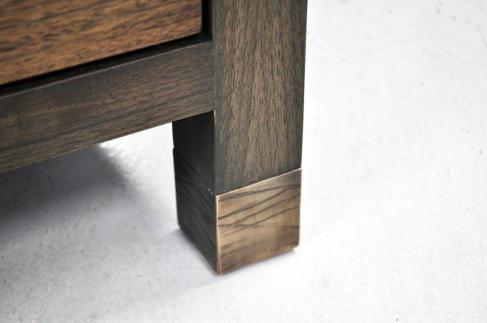 Brandner Design Bronze Banded Console