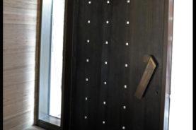 Brandner Design Mountain Industrial Entry Door