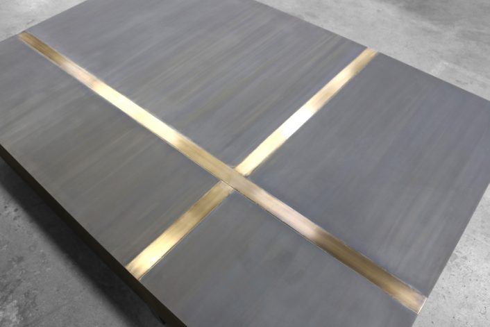 Brandner Design Bronze Quadrant Table