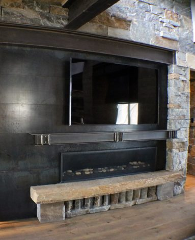 Brandner Design Lone Peak Fireplace Surround