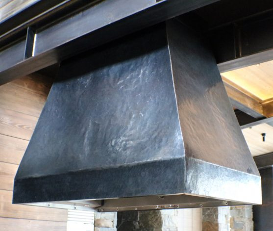Brandner Design Sophisticated Industrial Oven Hood