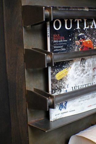 Brandner Design Lone Peak Magazine Rack