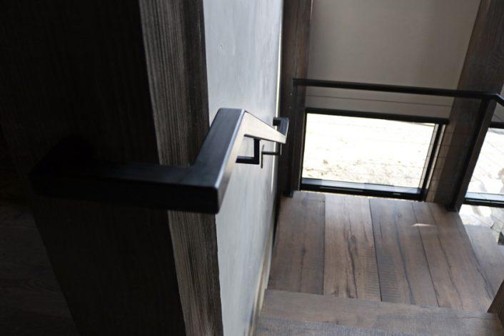 Brandner Design Lone Peak Stairs and Railing