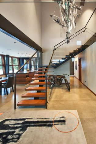 Brandner Design Rockcress Guest House Stairs