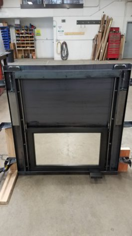 Guillotine Fireplace Door System