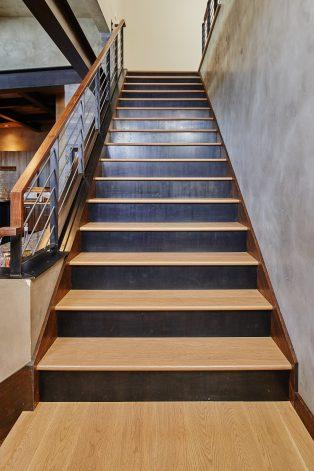 The 19th Steel Stair Risers Brandner Design