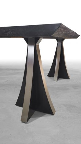 Brandner Design Manhattan Curved Table