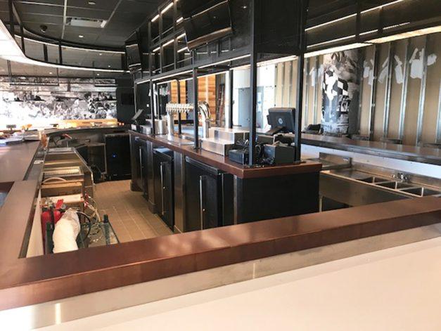 Brandner Design La Carnita Bar BWI Airport