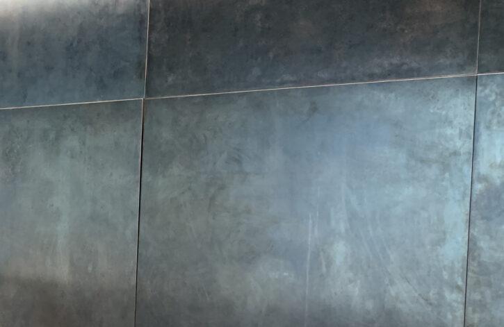 Weathered Black Dark Stainless Steel