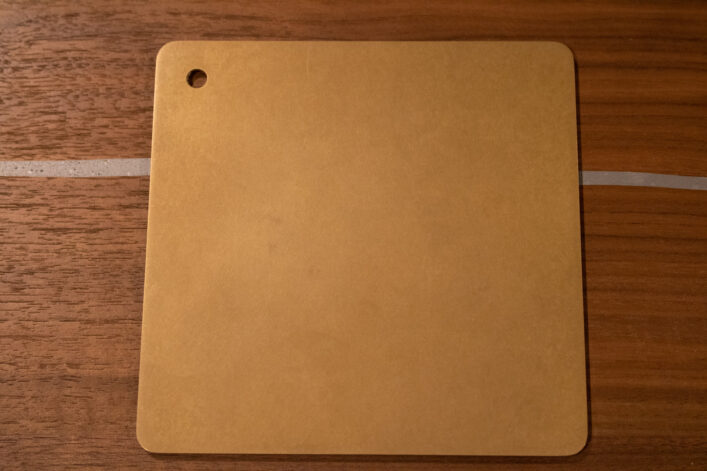 light brown on bronze