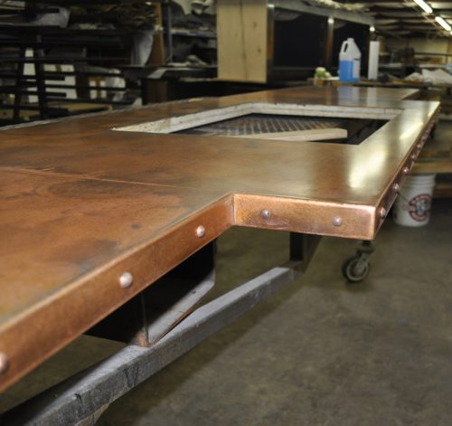 Brandner Design Teton Copper Countertop