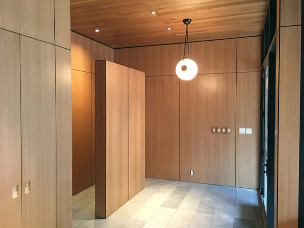 Wood Veneer Paneling Brandner Design