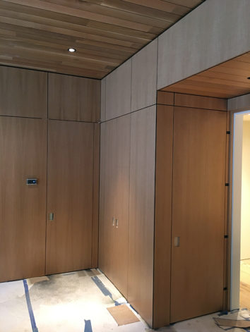 Plywood Wall Panels Design