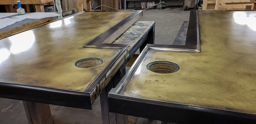 Brandner Design Brass Counters