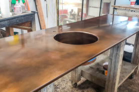 Brandner Design Belk Copper Sink