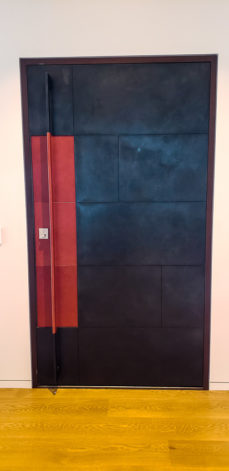 Brandner Design Front Door w/ Leather Handle