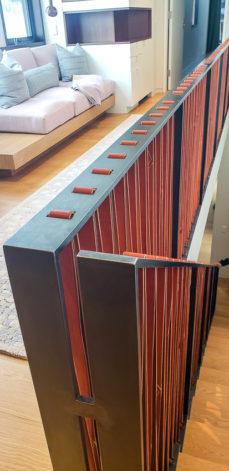 Brandner Design Leather Railing