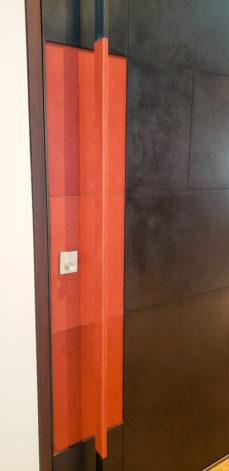 Brandner Design Front Door w/ Leather Handle