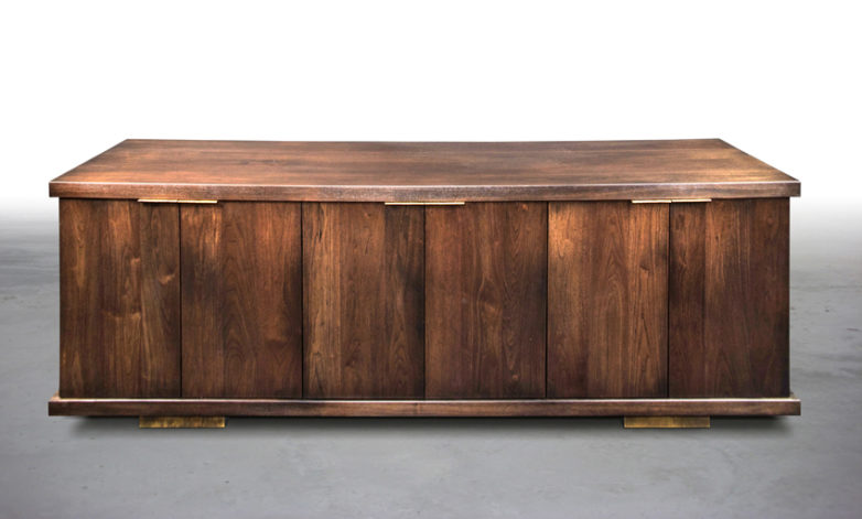 Shelter Minella Wood Top Console