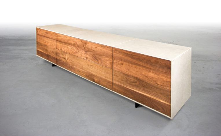 Brandner Design Leather Console