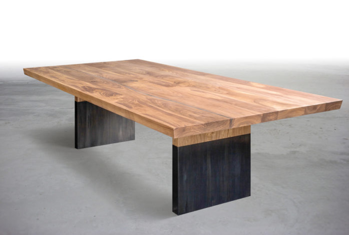 Shelter Minella Walnut Dining Table