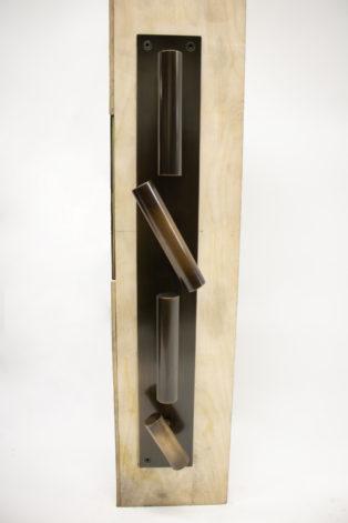 Bronze T-Handle Door Set