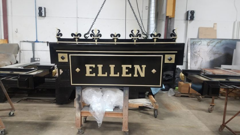 The Ellen Theatre - Marquee Fabrication