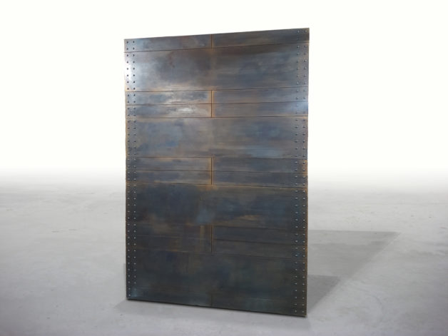 Modern Riveted Industrial Door