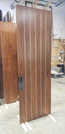 Pinstripe Door