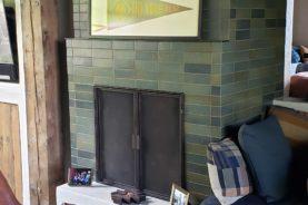 Spring Valley Fireplace Door